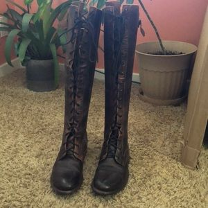 Bed Stu Della knee high boots